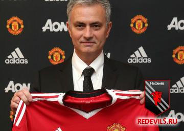 Жозе Моуринью – новый менеджер «Манчестер Юнайтед»