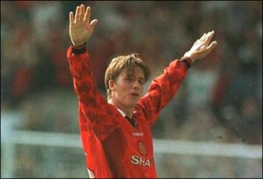 David Beckham - Goal From Half